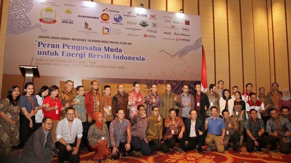 Peran pengusaha muda untuk energi bersih Indonesia