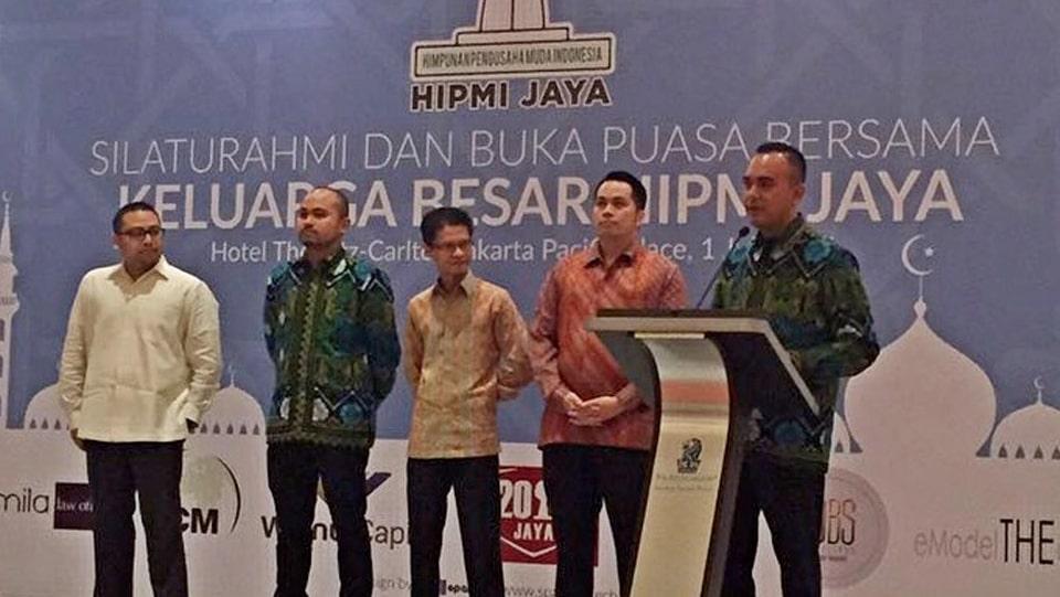 Buka puasa bersama HIPMI Jaya